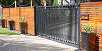 Wrought Iron Sliding Gates