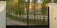 Wrought Iron Swinging Gates